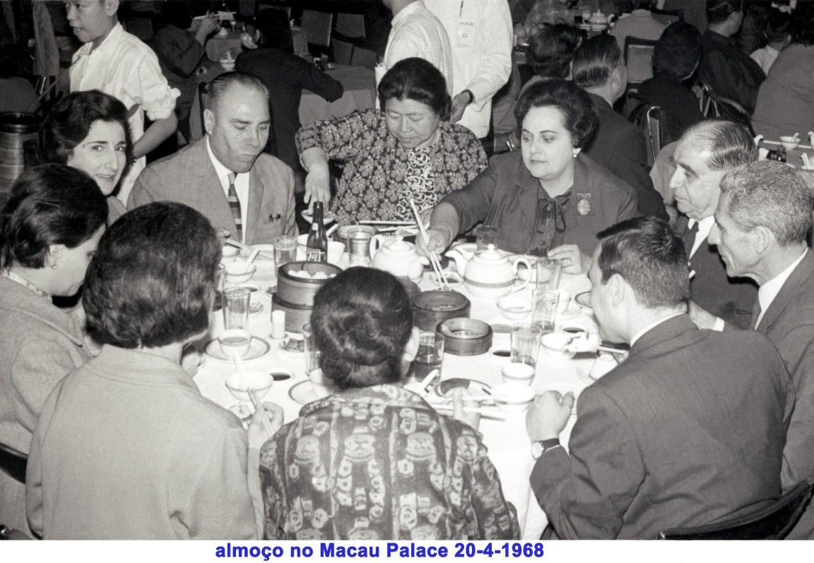 056 68-04-20 almoço no Macau Palace