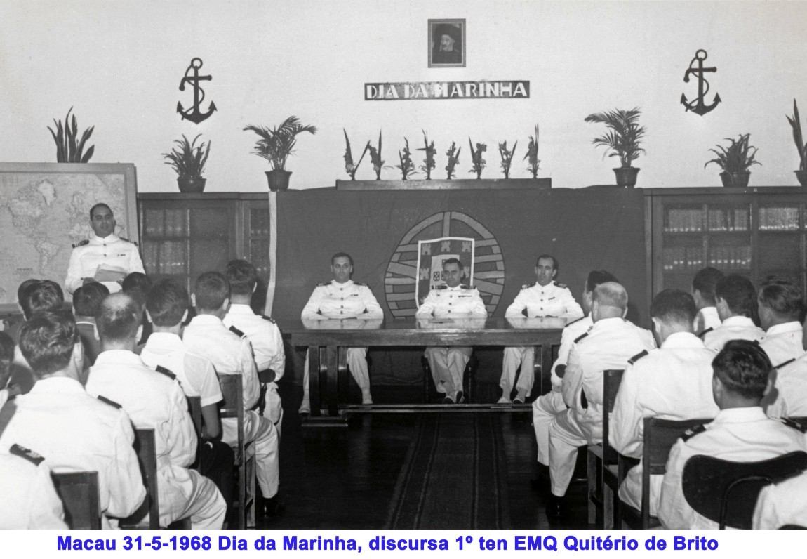 064 68-05-31 Dia da Marinha-Quitério de Brito discursa nos Serviços de Marinha