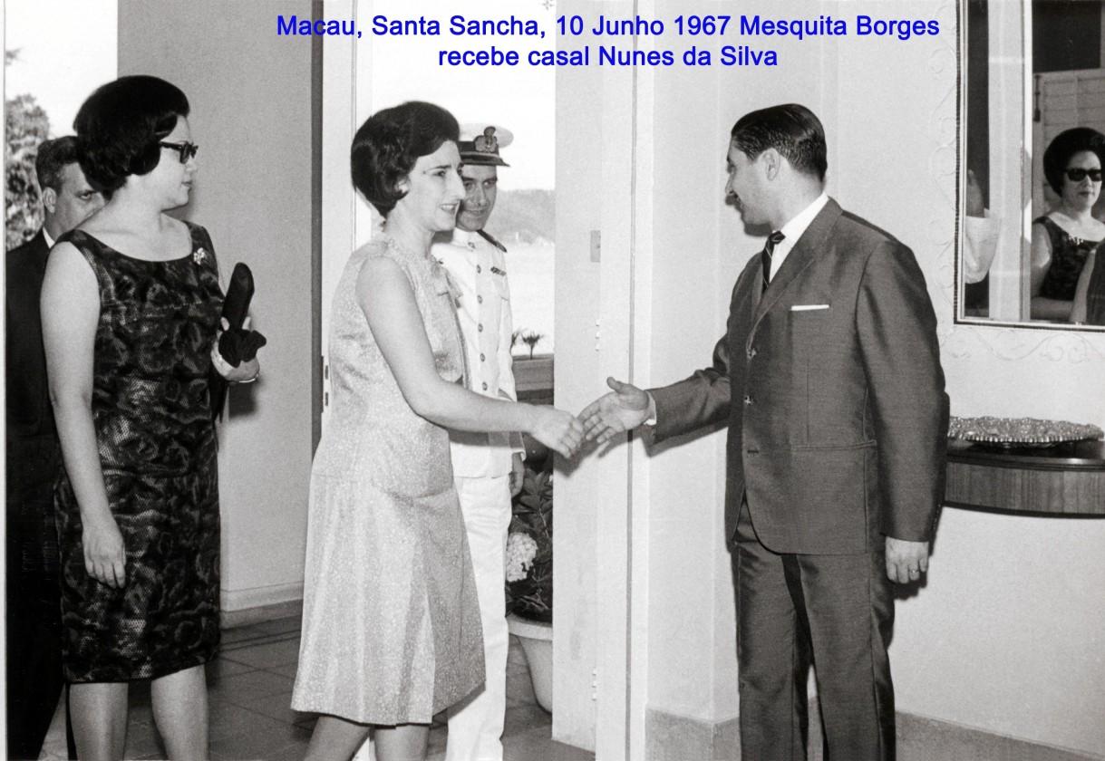 082 67-06-10 Mesquita Borges recebe casal Nunes da Silva