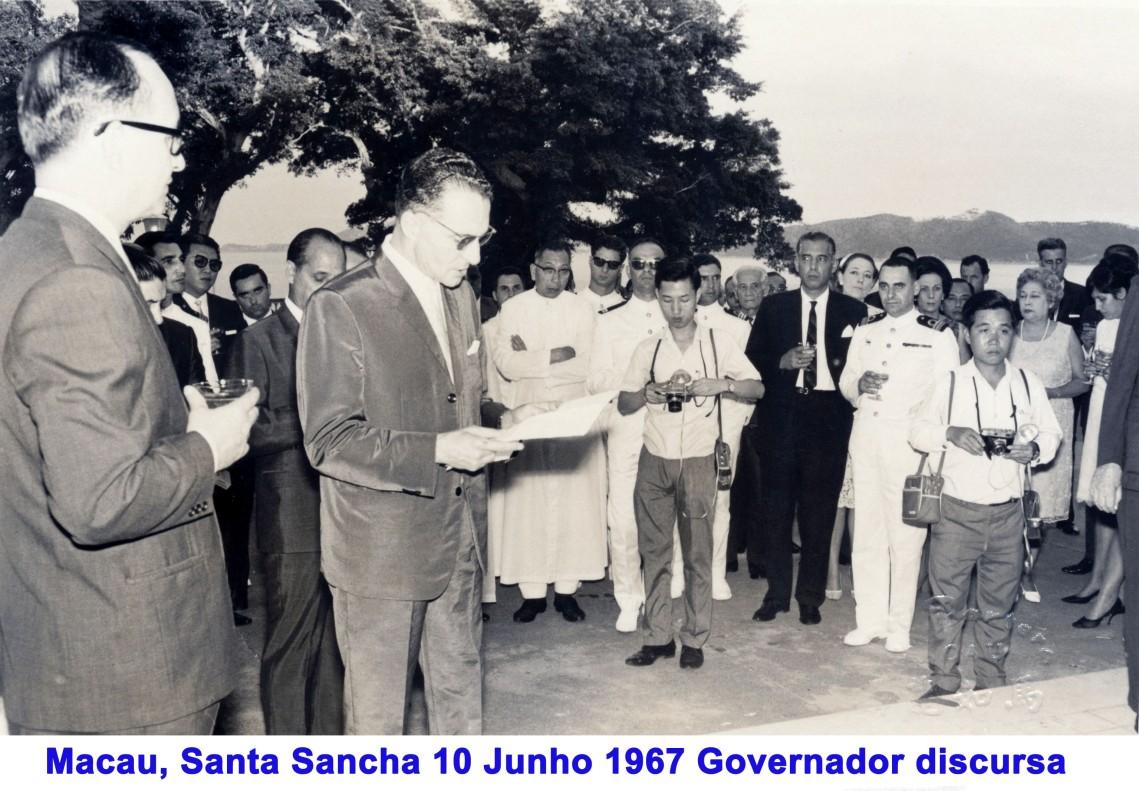 084 67-06-10 Governador discursa em Santa Sancha
