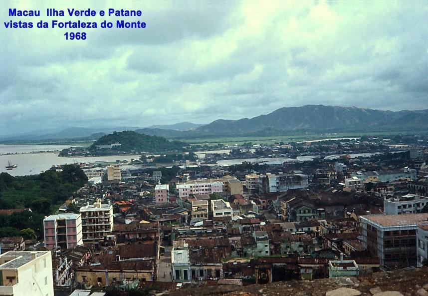 094 68 Ilha Verde e Patane vistas da Fortaleza do Monte