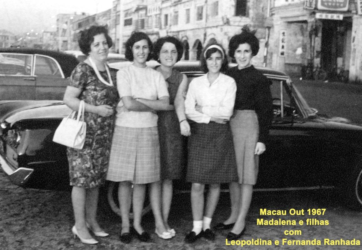 114 67-10 Madalena e filhas com Leopoldina e Fernanda Ranhada