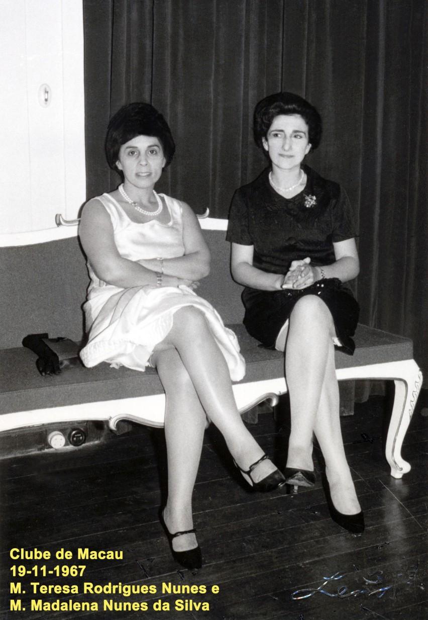 121 67-11-19 Clube de Macau-Teresa Nunes e Madalena N. Silva