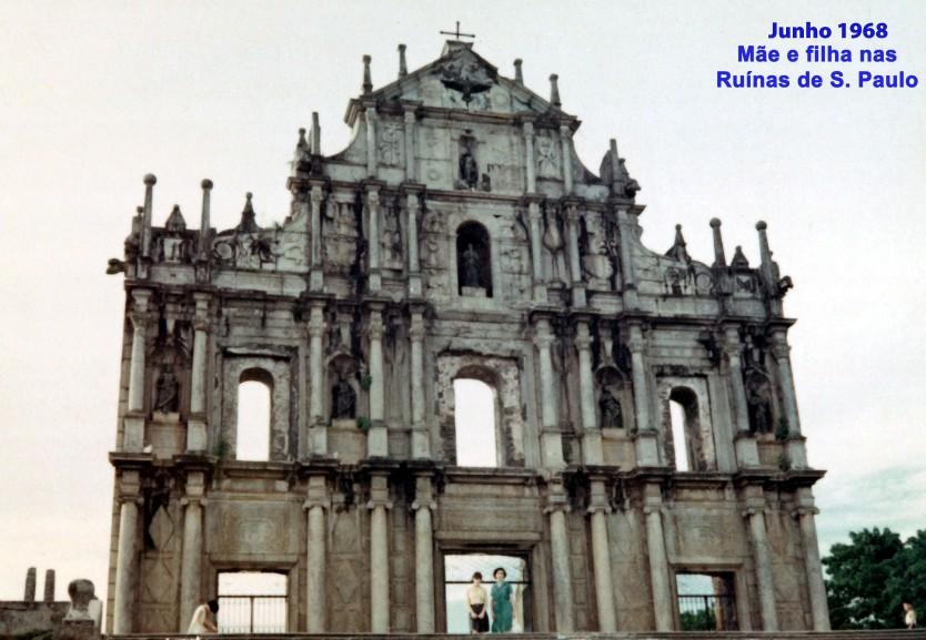 123 68-06 Madalena e Helena nas Ruínas de S Paulo