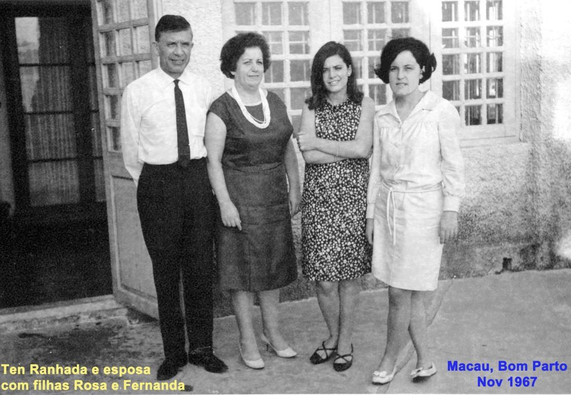 125 67-11 Ten Ranhada e esposa Leopoldina com filhas Rosa e Fernanda