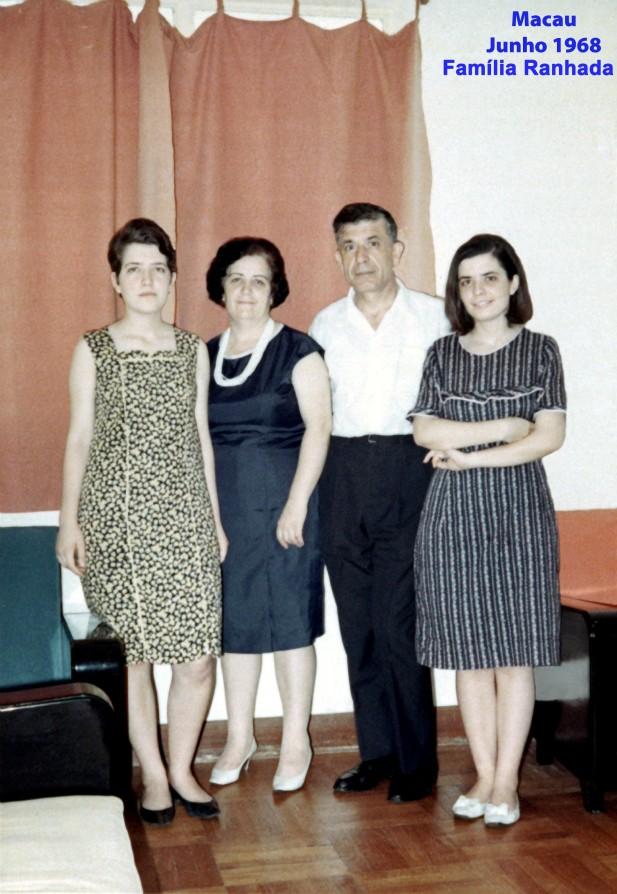 131 68-06 casal Ranhada com filhas Gina e Rosa