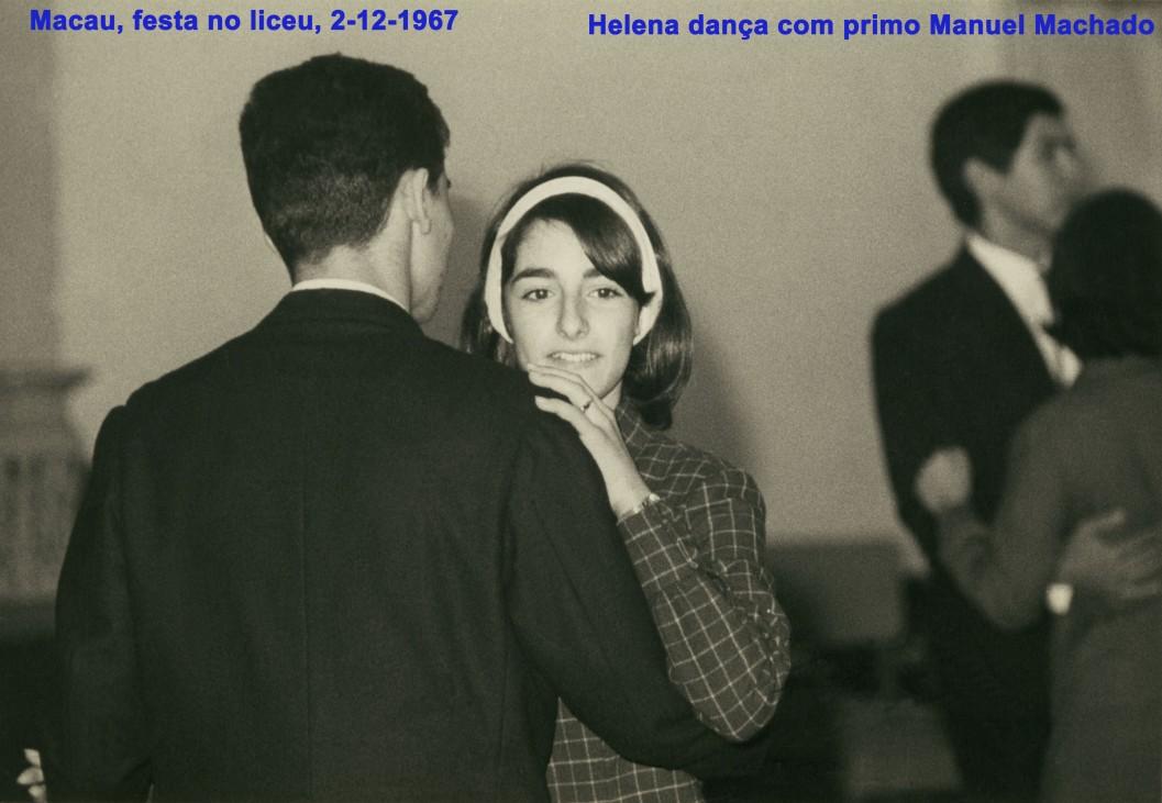 138 67-12-02 Helena dança com primo em festa do liceu