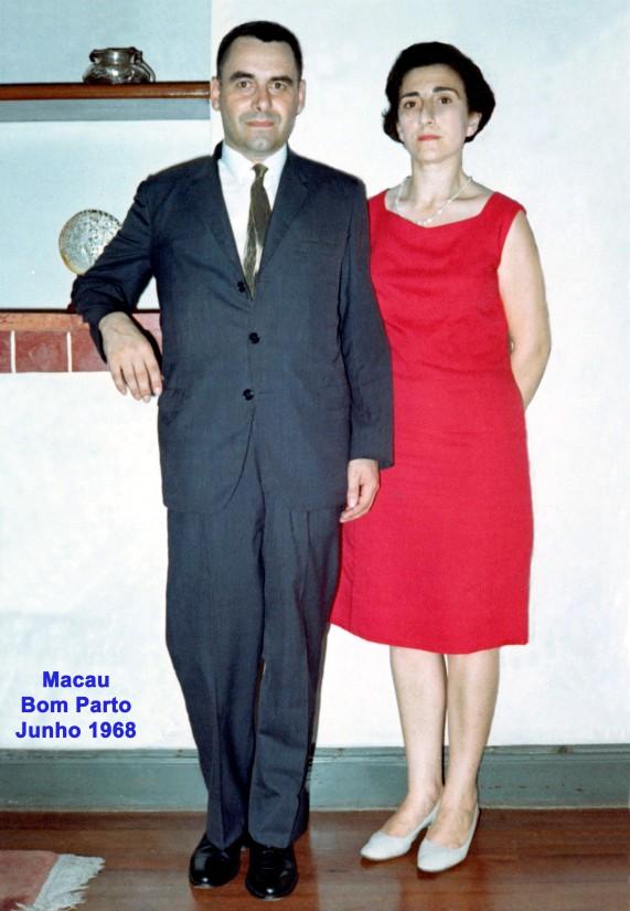 163b 68-06 o casal Nunes da Silva no Bom Parto