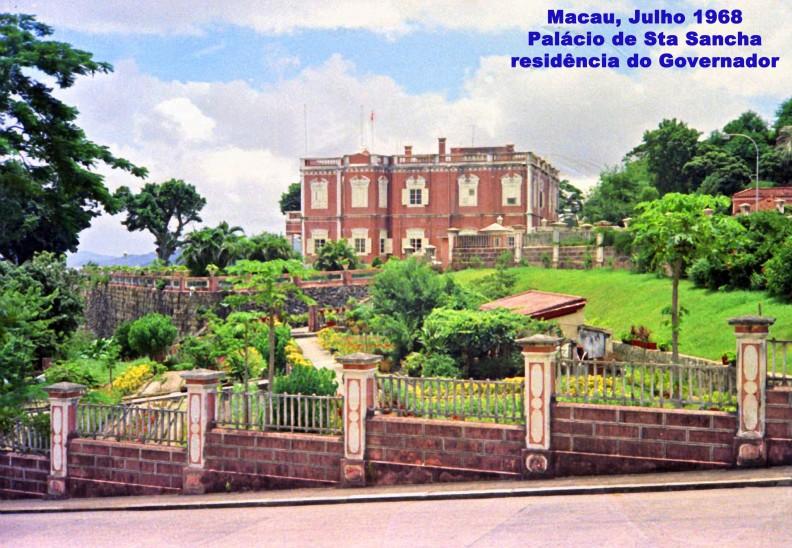 171 68-07 Palácio de Sta Sancha- residência do Governador