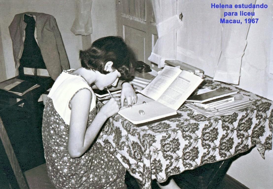 175 67 Helena estudando para liceu