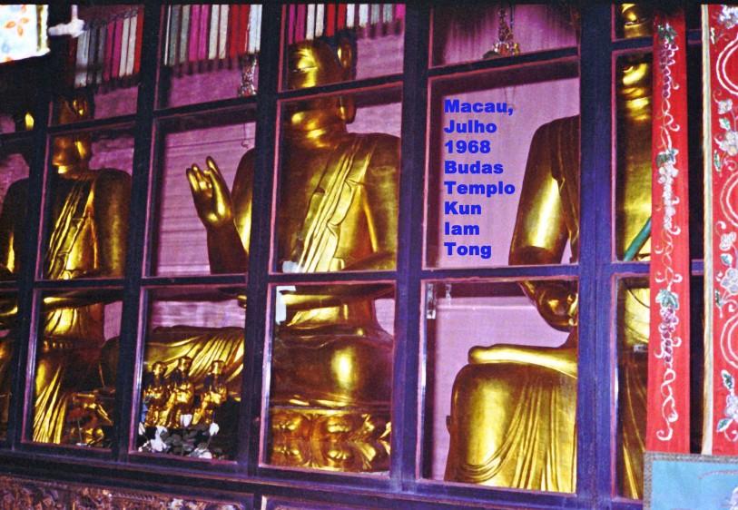 184 68-07 Budas do Templo Kun Iam Tong
