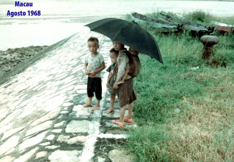 205 68-08 crianças no molhe