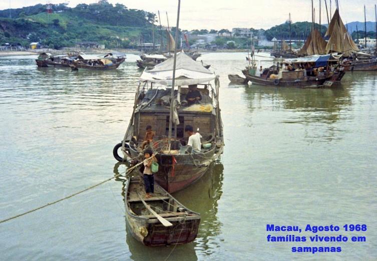 207 68-08 famílias vivendo em sampanas