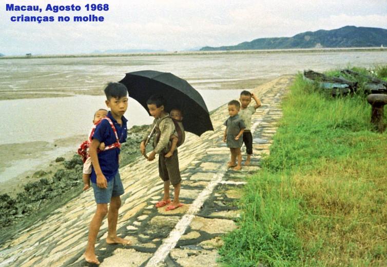 214 68-08 crianças no molhe
