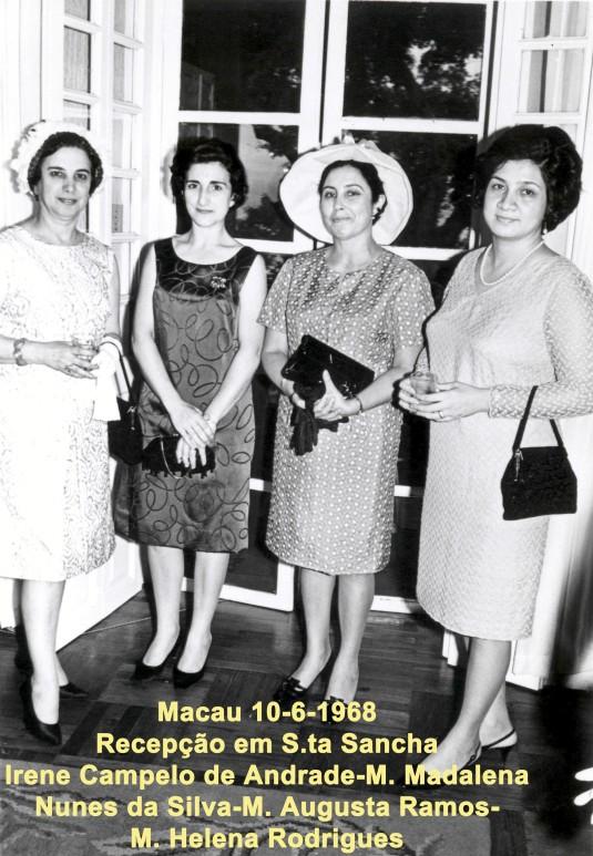 218 68-06-10 Recepção em S.ta Sancha-grupo de senhoras