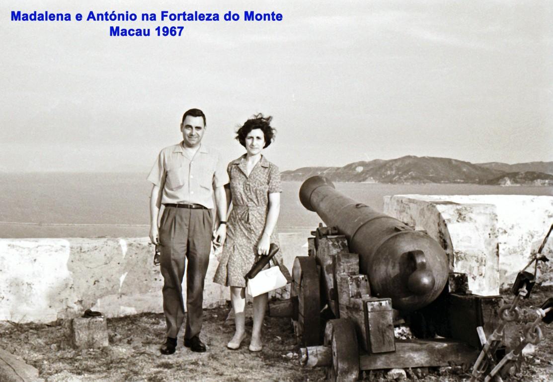 225 67 Lena e António na Fortaleza do Monte