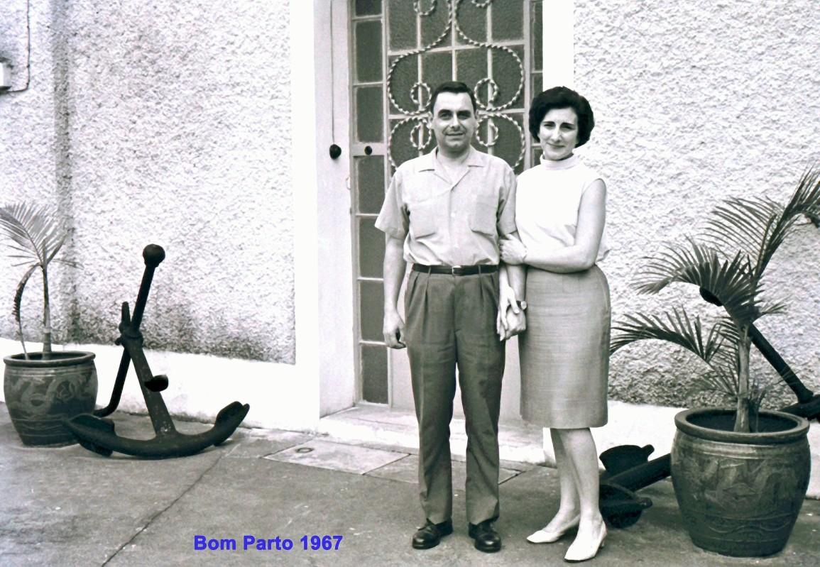 248 67 Lena e António na varanda do Bom Parto