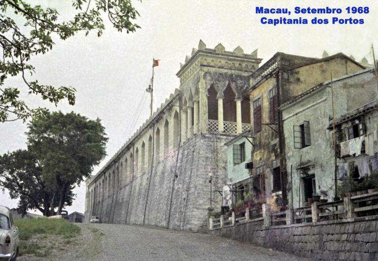 249 68-09 a Capitania dos Portos de Macau