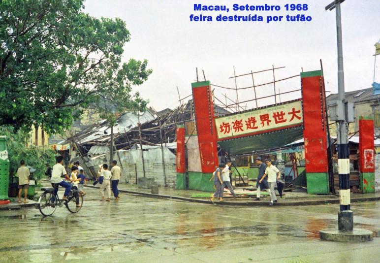 253 68-09 tufão - feira destruída