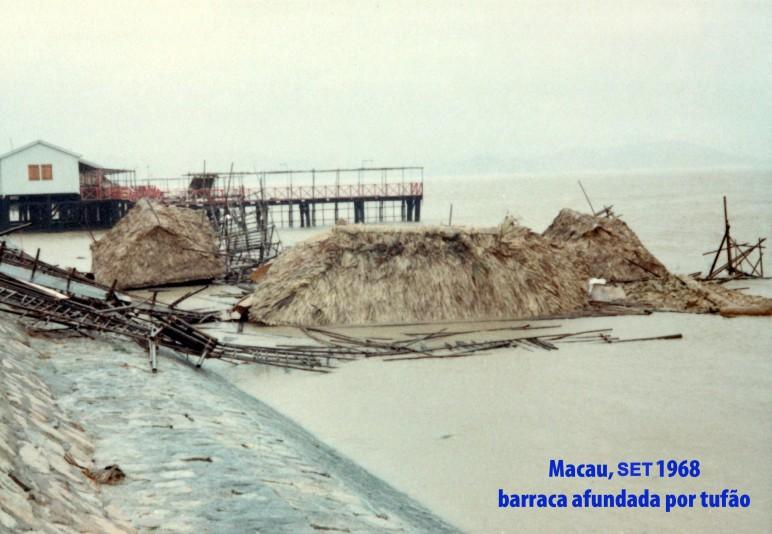 258 68-09 barraca afundada por tufão