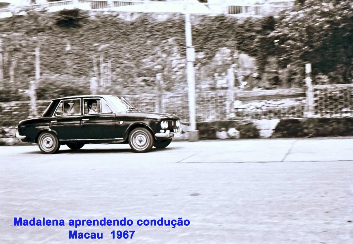 267 67 Lena aprende condução