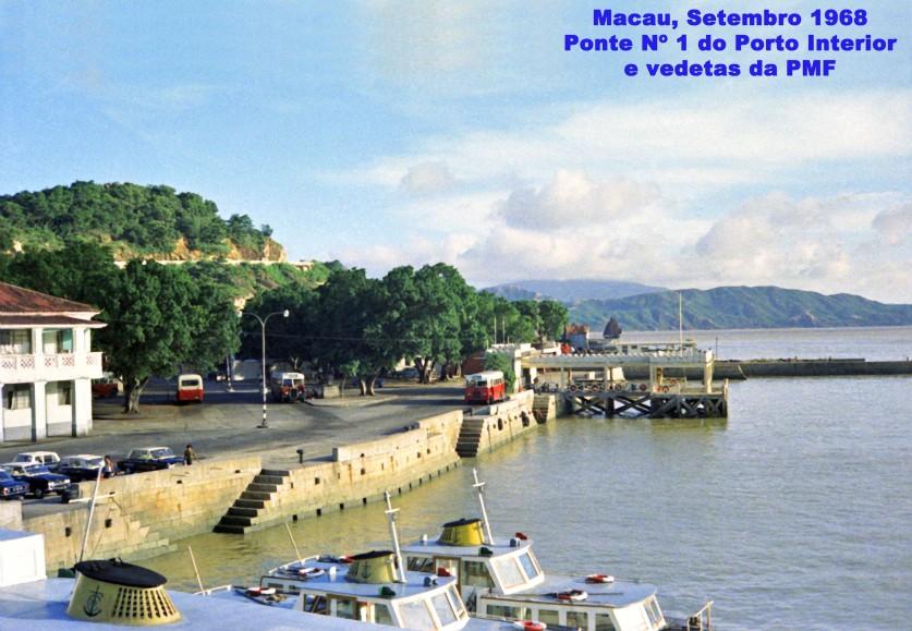 269 68-09 Ponte Nº 1 do Porto Interior e vedetas da PMF