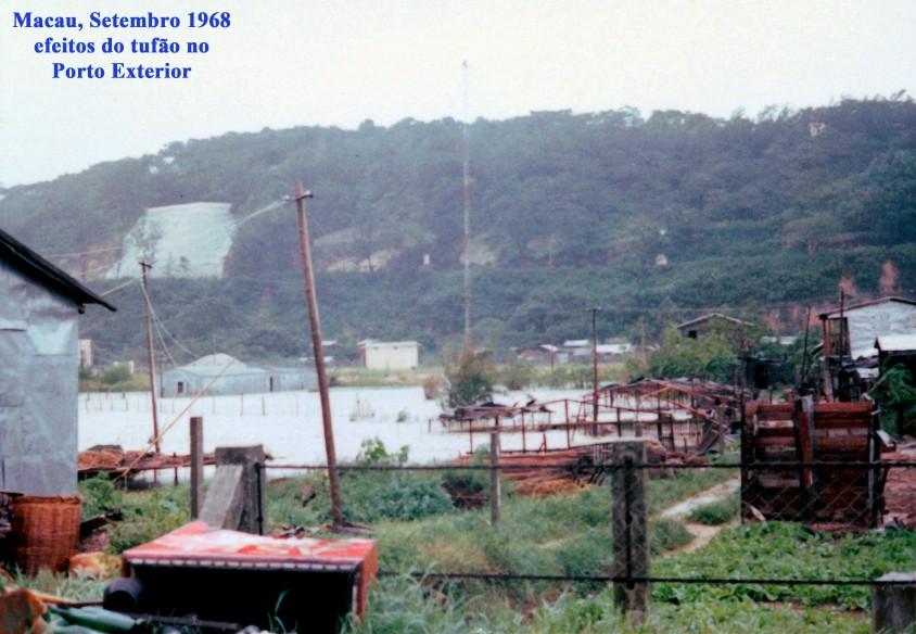276 68-09 efeitos do tufão no Porto Exterior
