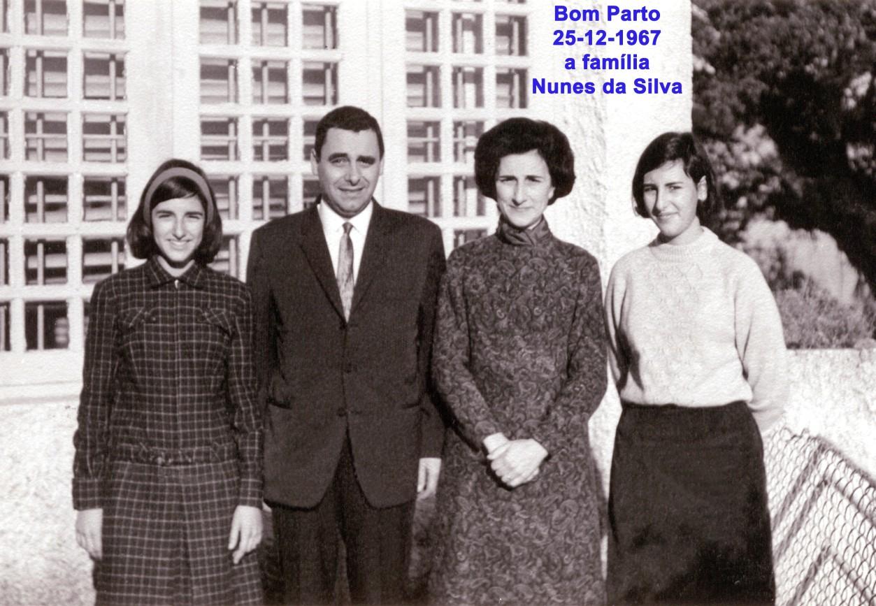 283 67-12-25 a família Nunes da Silva no Bom Parto