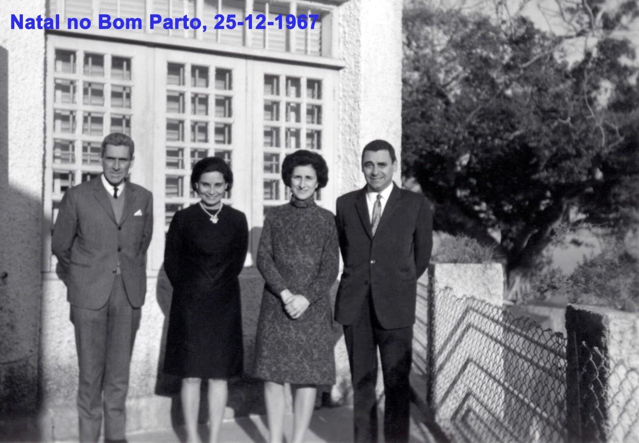 284 67-12-25 Natal no Bom Parto-José Luís com irmã Madalena