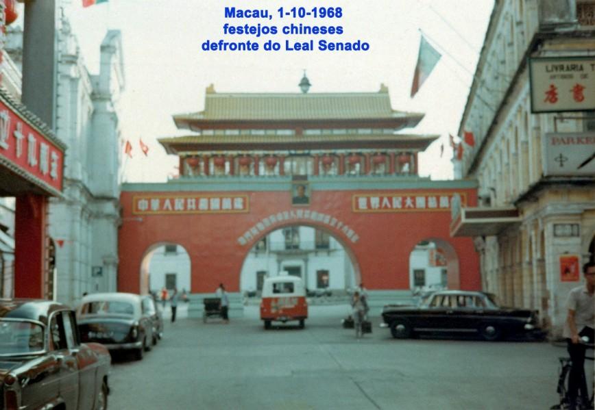 290 68-10-01 festejos chineses-defronte do Leal Senado