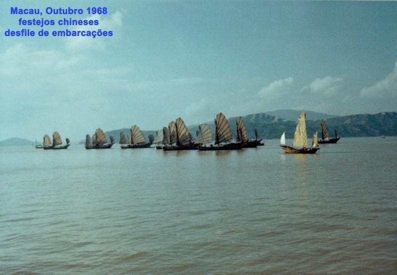 302 68-10-01 festejos chineses - desfile de embarcações