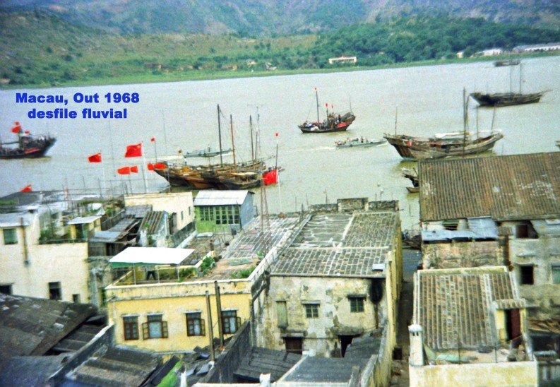 304 68-10-01 festejos chineses-desfile fluvial