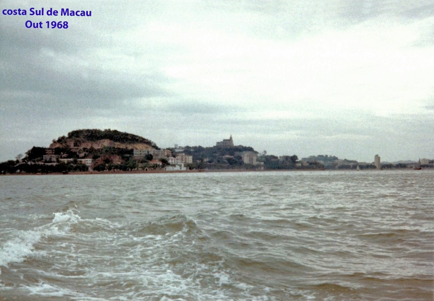 329 68-10 costa Sul de Macau