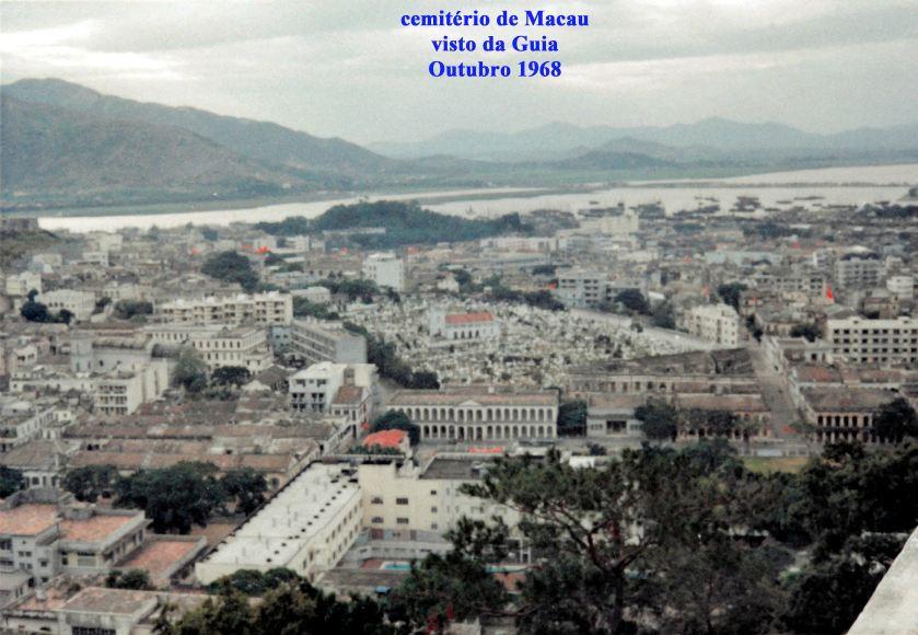 345 68-10 cemitério de Macau visto da Guia-atrás do Leal Senado