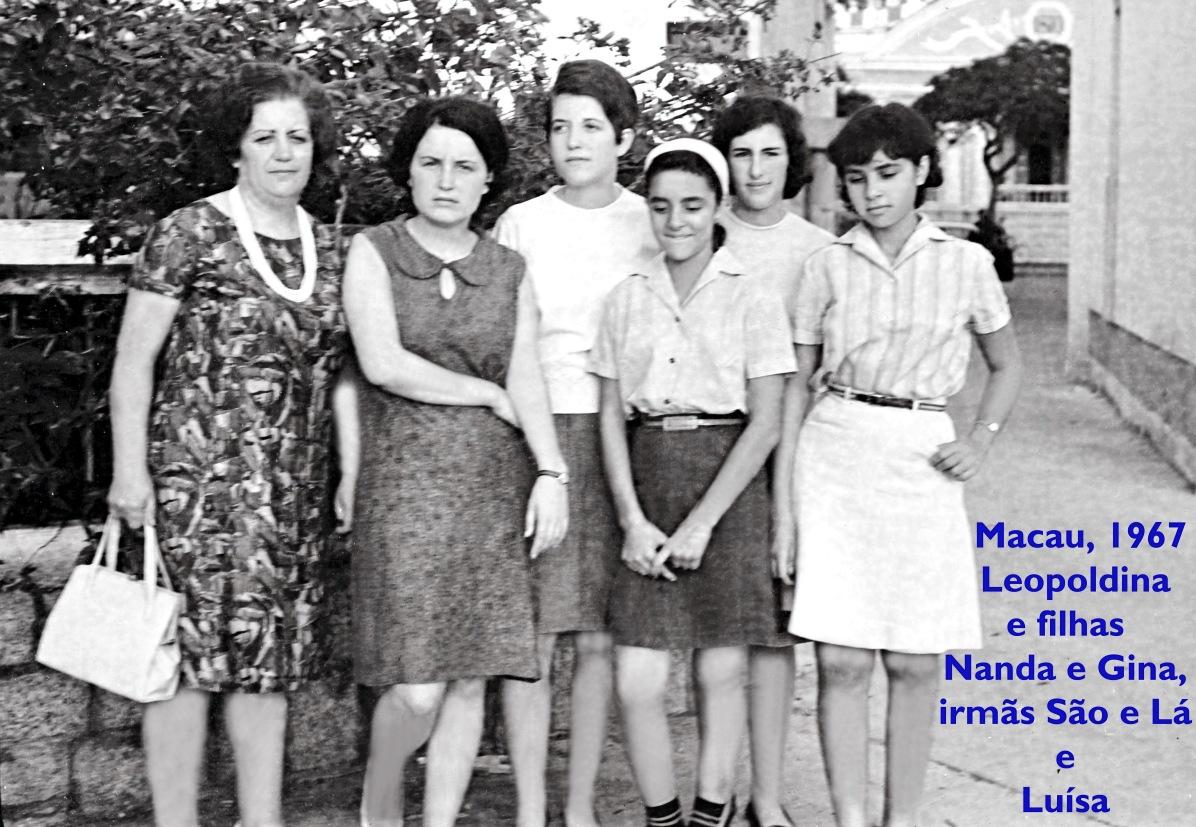 67 Leopoldina Ranhada com filhas Nanda e Gina Luisa São e Lá