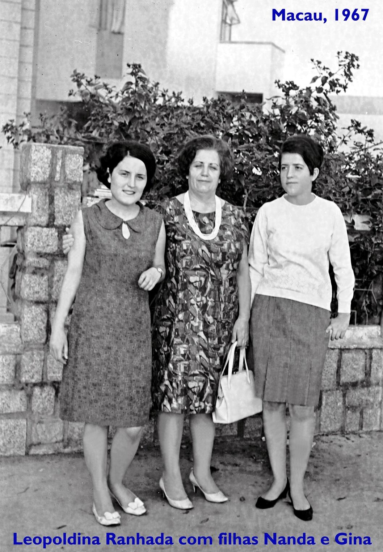 67 Leopoldina Ranhada com filhas Nanda e Gina